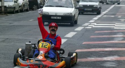 Mario Kart Prankster Brings Karting to the Real Streets