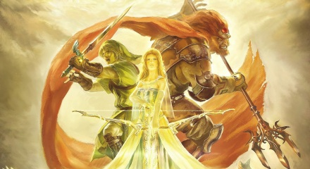 Zelda's 25th Anniversary Painting