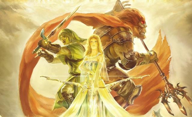 Zelda's 25th Anniversary Painting