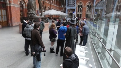London St Pancras 3DS StreetPass Event with Yoshinori Ono (11)