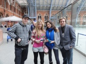 London St Pancras 3DS StreetPass Event with Yoshinori Ono (2)