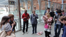 London St Pancras 3DS StreetPass Event with Yoshinori Ono (20)