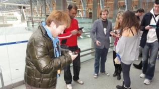 London St Pancras 3DS StreetPass Event with Yoshinori Ono (21)