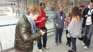 London St Pancras 3DS StreetPass Event with Yoshinori Ono (21)
