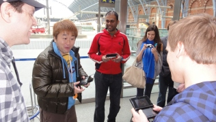 London St Pancras 3DS StreetPass Event with Yoshinori Ono (22)