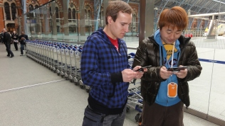 London St Pancras 3DS StreetPass Event with Yoshinori Ono (23)