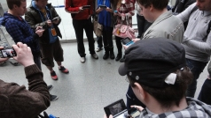 London St Pancras 3DS StreetPass Event with Yoshinori Ono (25)