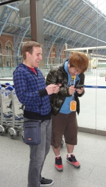 London St Pancras 3DS StreetPass Event with Yoshinori Ono (27)