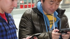 London St Pancras 3DS StreetPass Event with Yoshinori Ono (28)