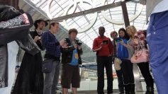 London St Pancras 3DS StreetPass Event with Yoshinori Ono (29)
