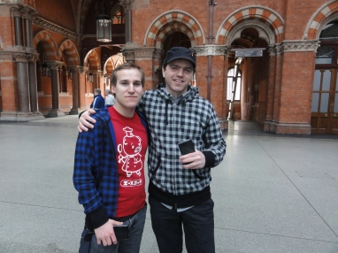 London St Pancras 3DS StreetPass Event with Yoshinori Ono (3)