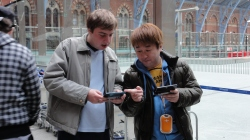 London St Pancras 3DS StreetPass Event with Yoshinori Ono (30)