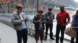London St Pancras 3DS StreetPass Event with Yoshinori Ono (31)