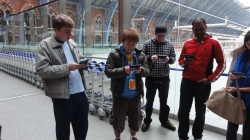 London St Pancras 3DS StreetPass Event with Yoshinori Ono (31)
