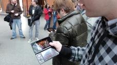 London St Pancras 3DS StreetPass Event with Yoshinori Ono (32)