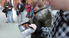 London St Pancras 3DS StreetPass Event with Yoshinori Ono (32)