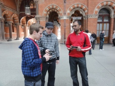 London St Pancras 3DS StreetPass Event with Yoshinori Ono (4)