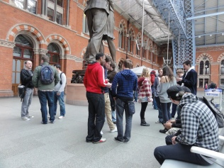 London St Pancras 3DS StreetPass Event with Yoshinori Ono (6)