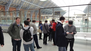 London St Pancras 3DS StreetPass Event with Yoshinori Ono (9)