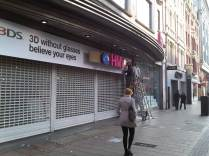 Early Outside HMV Oxford Street