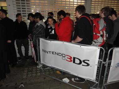 Nintendo 3DS UK Launch Oxford Street HMV (5)