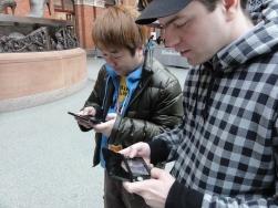 Stuart from Nintendo Scene in a Street Fight with Yoshinori Ono - I actually WIN (1)