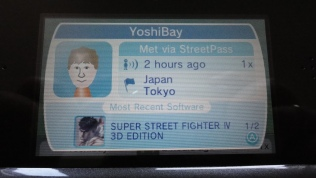 Yoshinori Ono 3DS Mii and Profile (2)