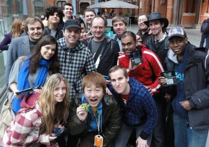 London StreetPass Event - Massive Success with Yoshinori Ono's Attendance