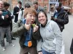 Yoshinori Ono with Erika - Nintendo Scene Admin