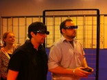 rob and matt enjoying 3D gaming