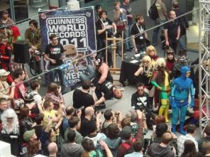 Kapow Comic Con 2011 - Day 2 - Cosplay Winner Bane Attacks IGN