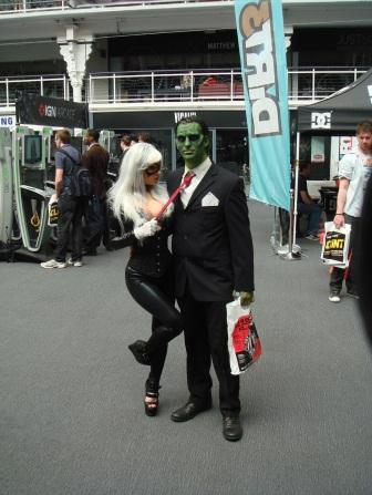 Kapow Comic Con 2011 - Day 2 - Cosplayers