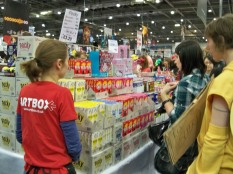 Pocky stands - MCM Expo