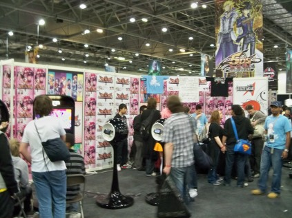 Arcana Heart & Guilty Gear stands - MCM Expo