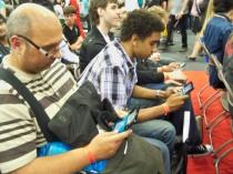 Random 3DS players - MCM Expo