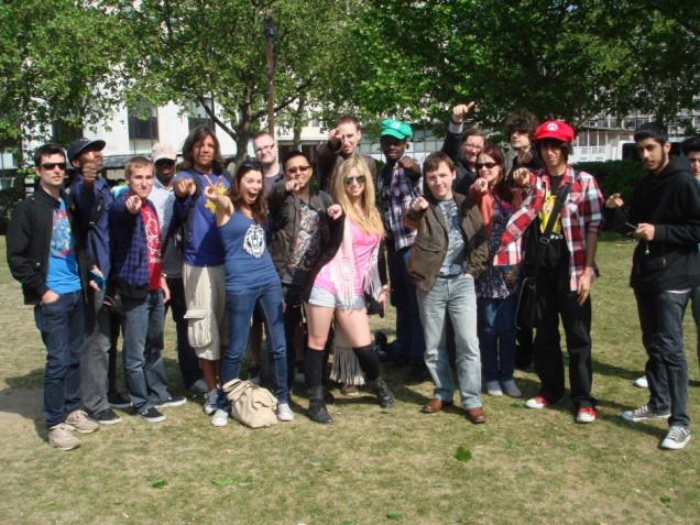 Streetpass London Posse - 01 May 11