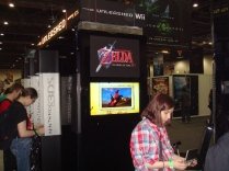 Nintendo Unleashed Zelda Area