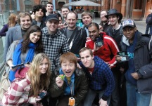 The West's 1st StreetPass event a massive success with Yoshinori Ono's Attendance.