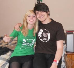 Katy and Ryan