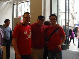 Adam, Stuart and Wes, Representing Nintendo Scene at this Event.