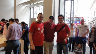The three amigos, Adam, Stuart and Wes from Nintendo Scene.