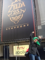Orla at the Zelda 25th Anniversary Symphony in London