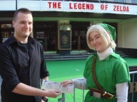 StealthBuda with Harley, the winner of our Ticket competition