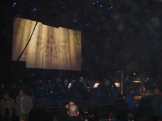 The Royal Philharmonic Concert Orchestra at the start of the Zelda 25th Anniversary Symphony