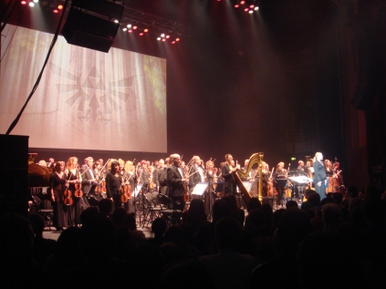 The Royal Philharmonic Concert Orchestra and the 24-strong Capital Voices choir