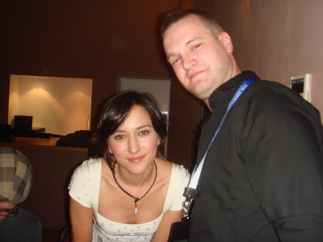StealthBuda with the epicly beautiful Zelda Williams at the after show meet and greet
