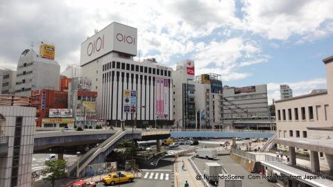 The View South Over the Ueno Crossroads and Flyovers