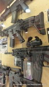 Replica Guns in a Toy Store