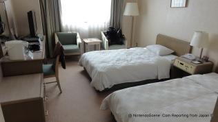 Our room at the Karasuma Kyoto Hotel