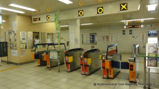 Jujo Station Ticket Barrier